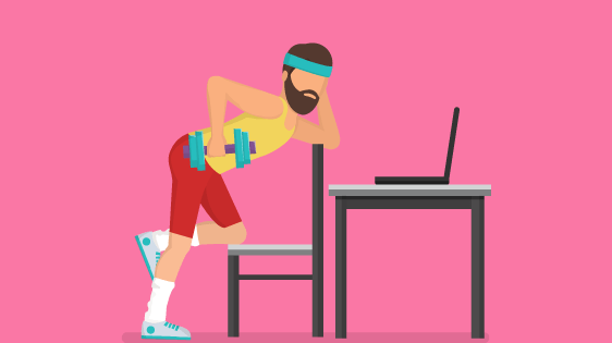 Awesome Exercises To Do At Your Desk To Stop Aches and Pain