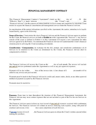 investment advisory agreement arbitration clause wording