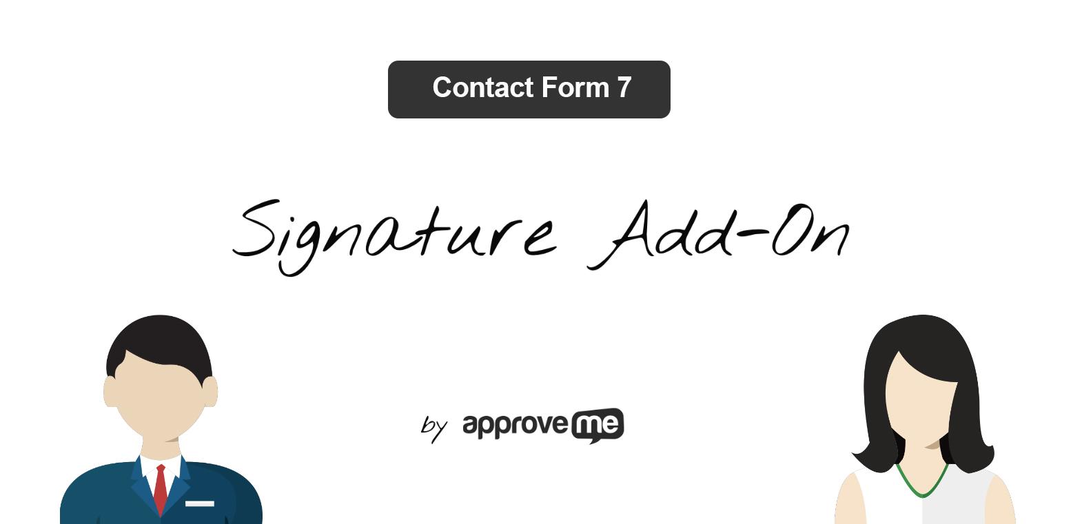 contact form 7 signature addon