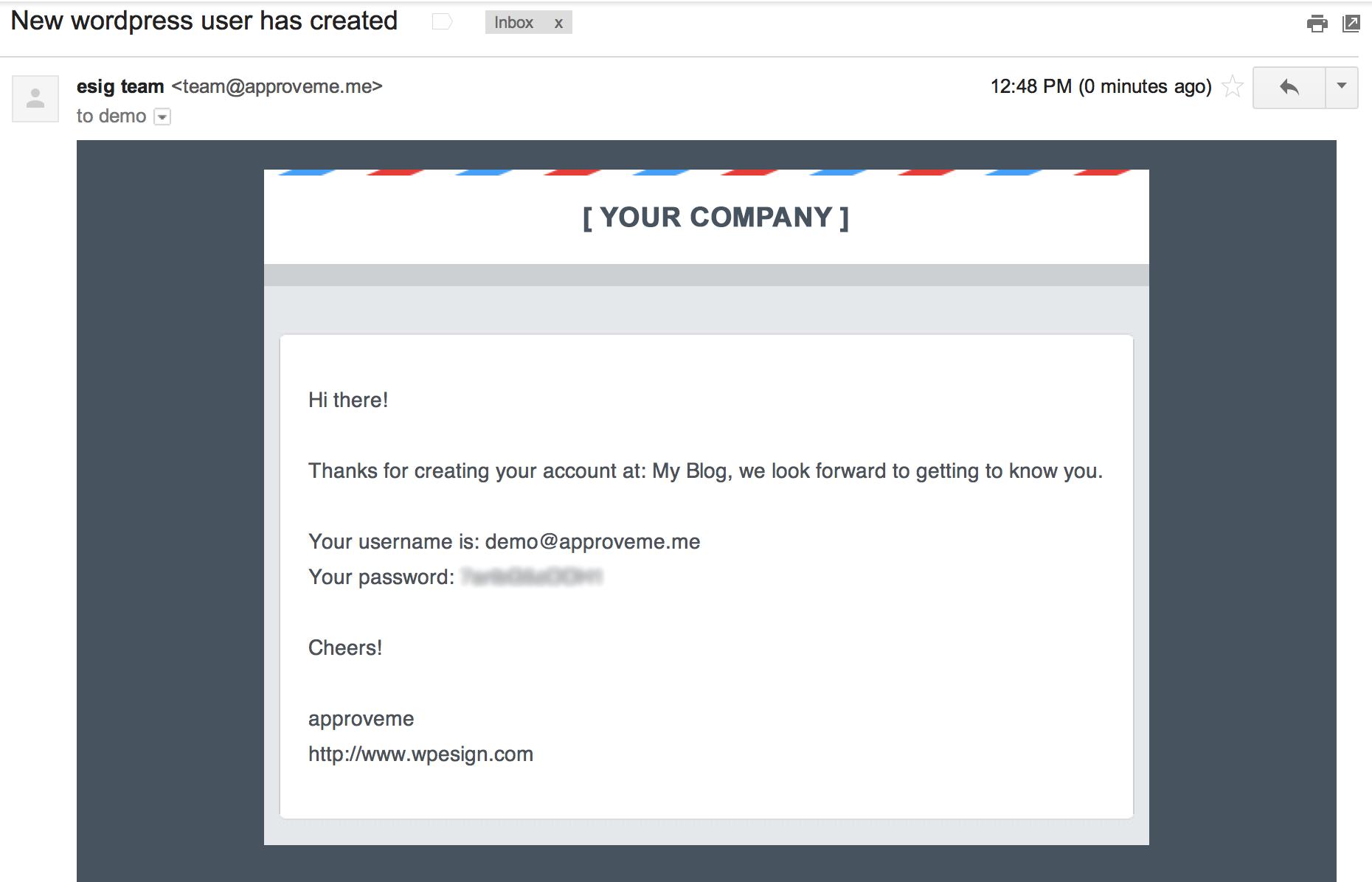 WordPress Register Plugin