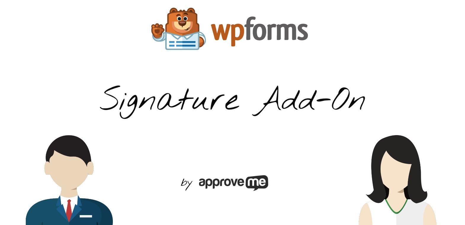 WP Forms Signature Add-On for WordPress WP E-Signature
