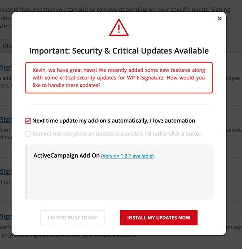 auto-update-add-ons