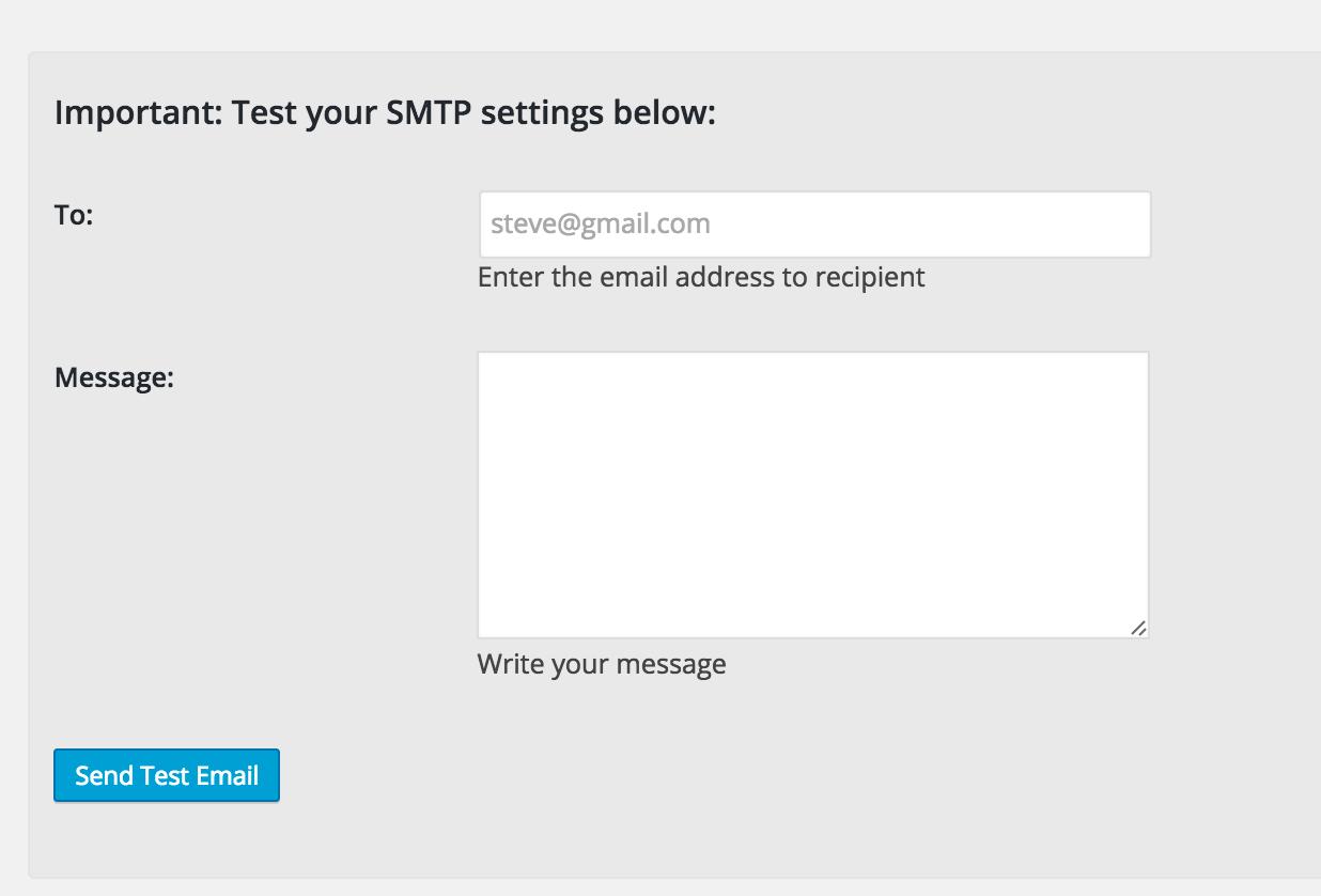 wordpress smtp settings esignature contract plugin