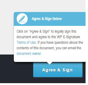 Wordpress Contract Plugin - Agree & Sign
