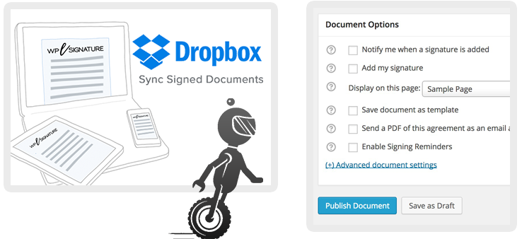 Advanced WordPress Digital Signature Automations