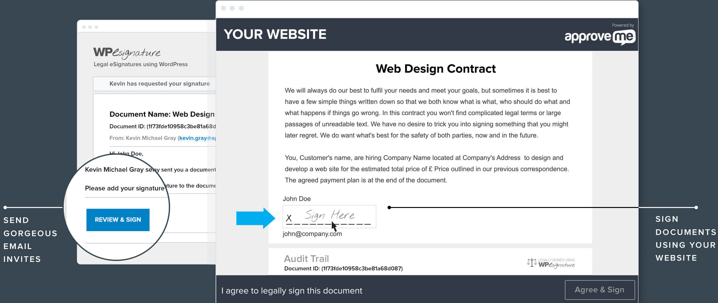 Online Contract Signing