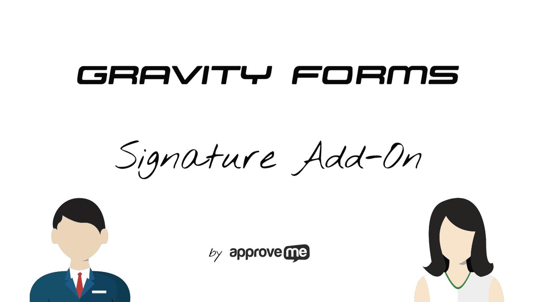 Gravity Forms Signature Addon
