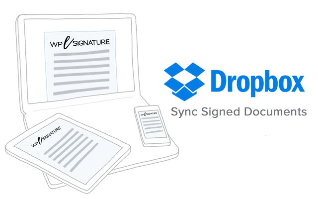 WP E-Signature Dropbox Sync