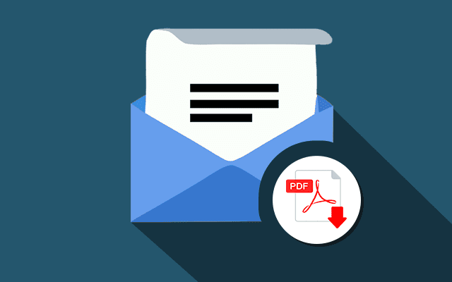 Digital Signature Attach PDF to Email