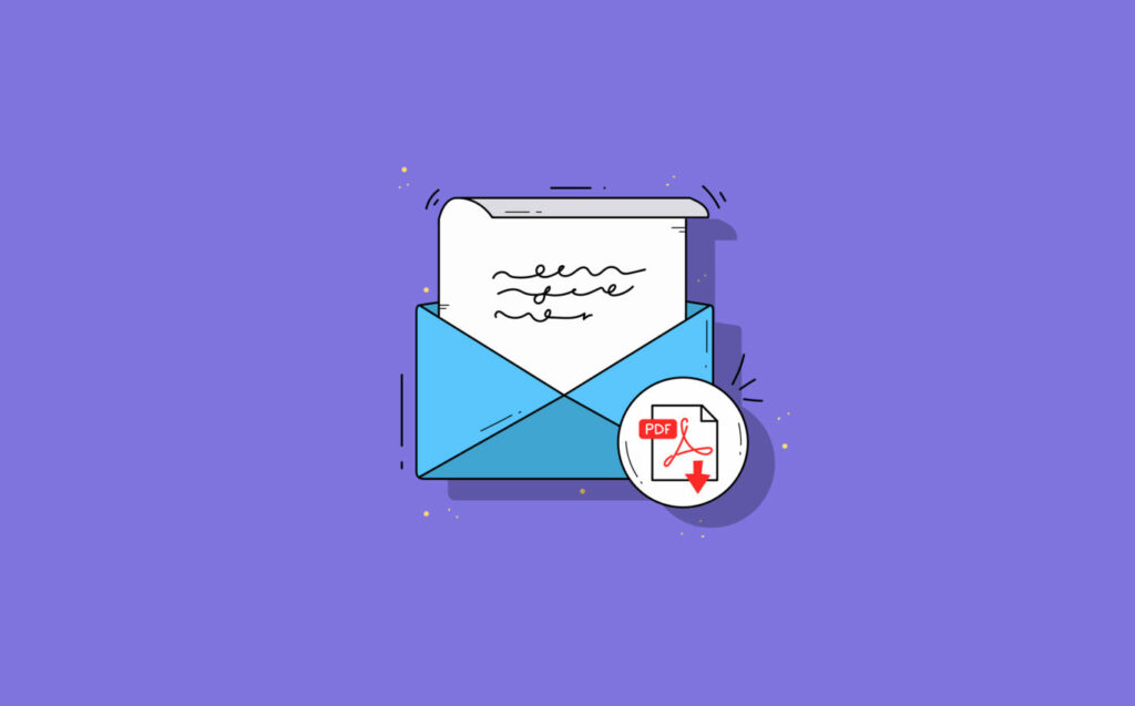 Attach PDF to Email